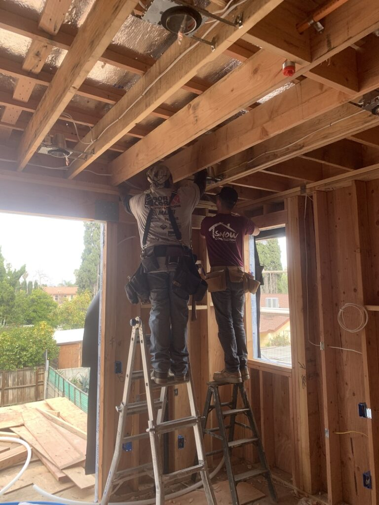 Wood House Framing Los Angeles - Wood Framing Contractor - Snow Construction
