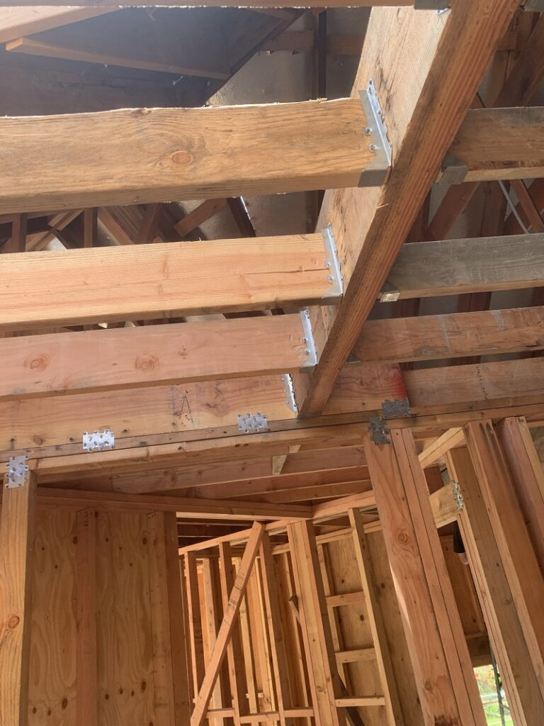 Concrete Foundation And Wood House Framing Los Angeles - Wood Framing Contractor - Snow Construction
