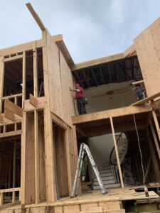 Concrete Foundation And Wood House Framing Los Angeles - Wood Framing Contractor - Snow Construction (1)