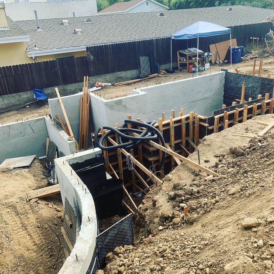 Concrete Foundation Contractor Los Angeles- Snow Construction